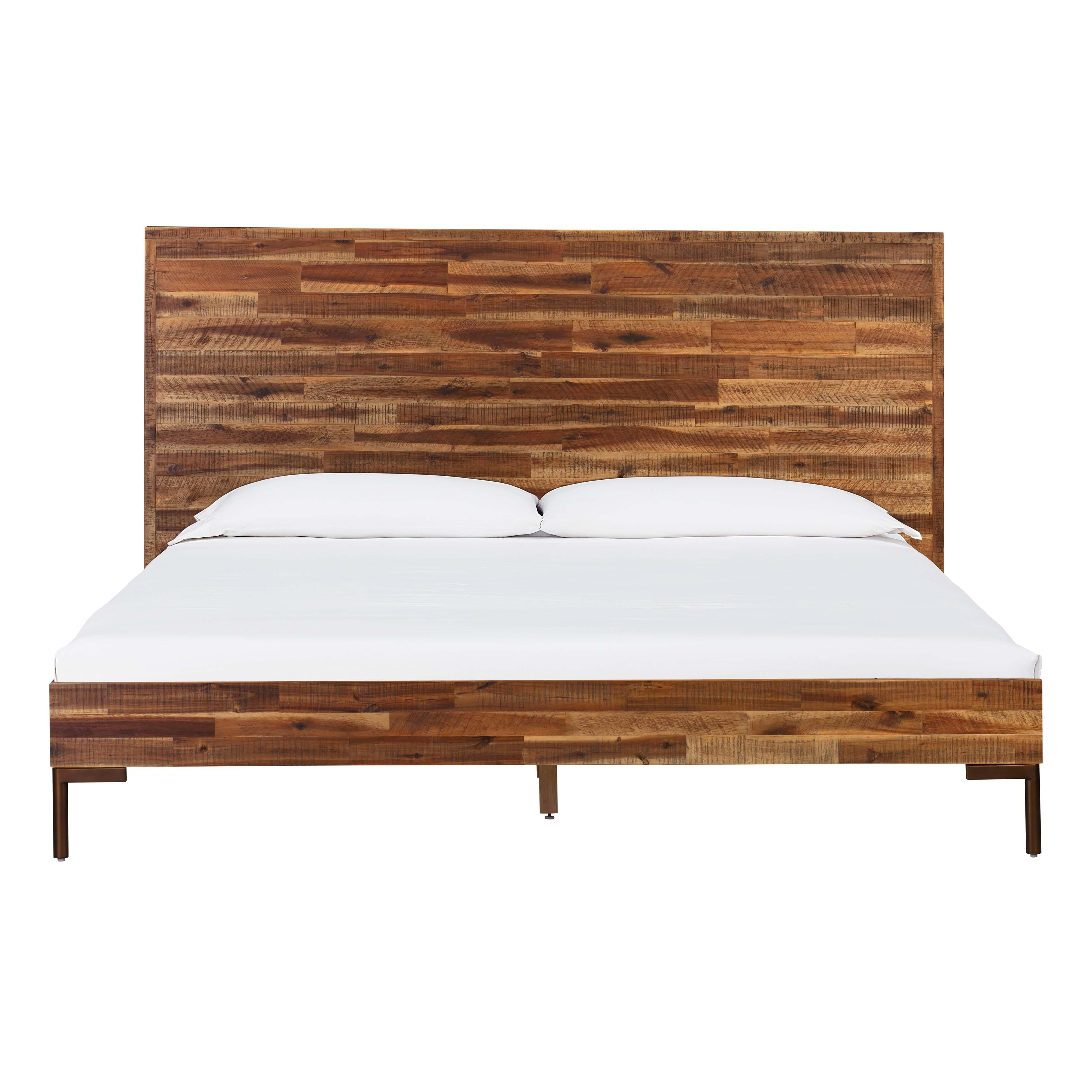 Bushwick Wooden King Bed Tov Furniture