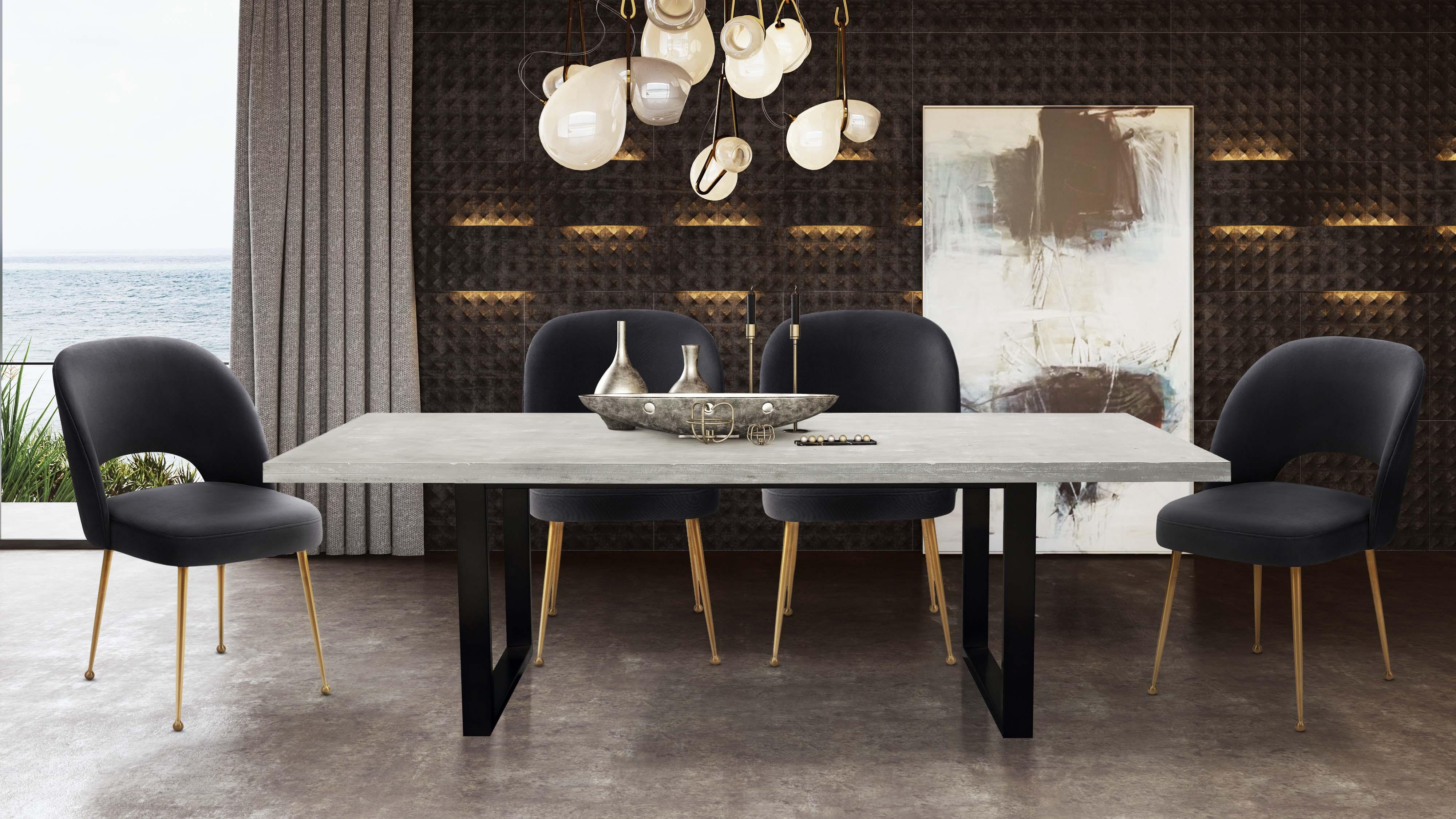 Urban Light Concrete Table Tov Furniture
