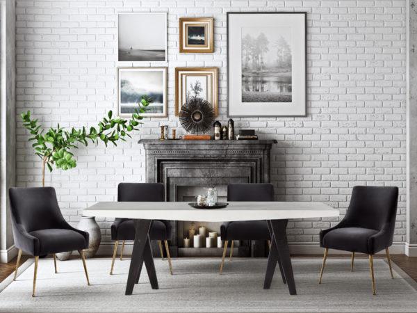 Gowanus Table Beatrix Chairs