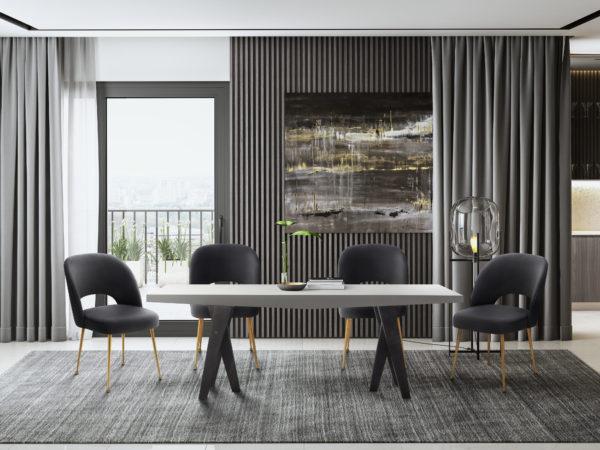 Gowanus Table Swell Chairs 1