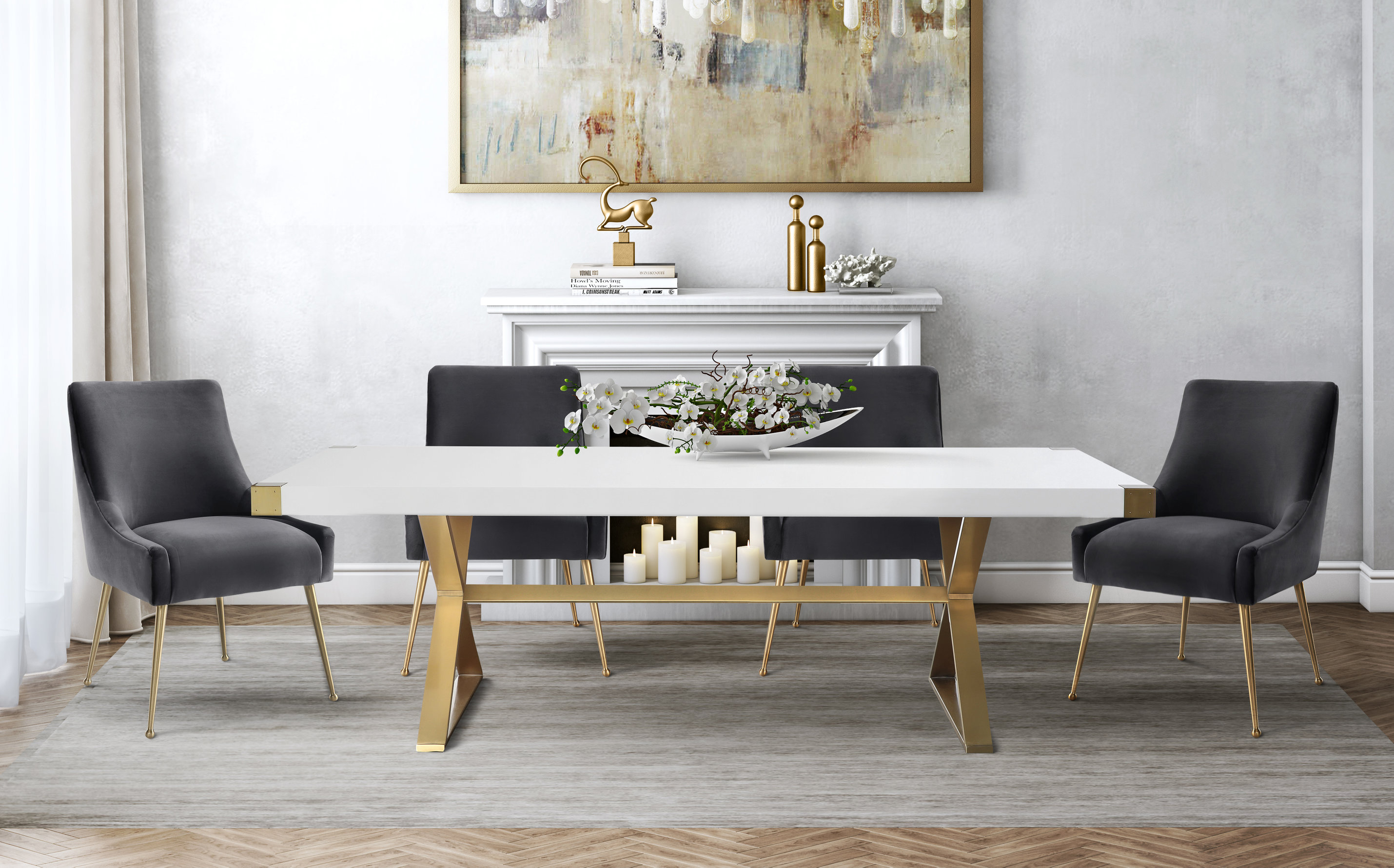 Adeline Dining Table Tov Furniture