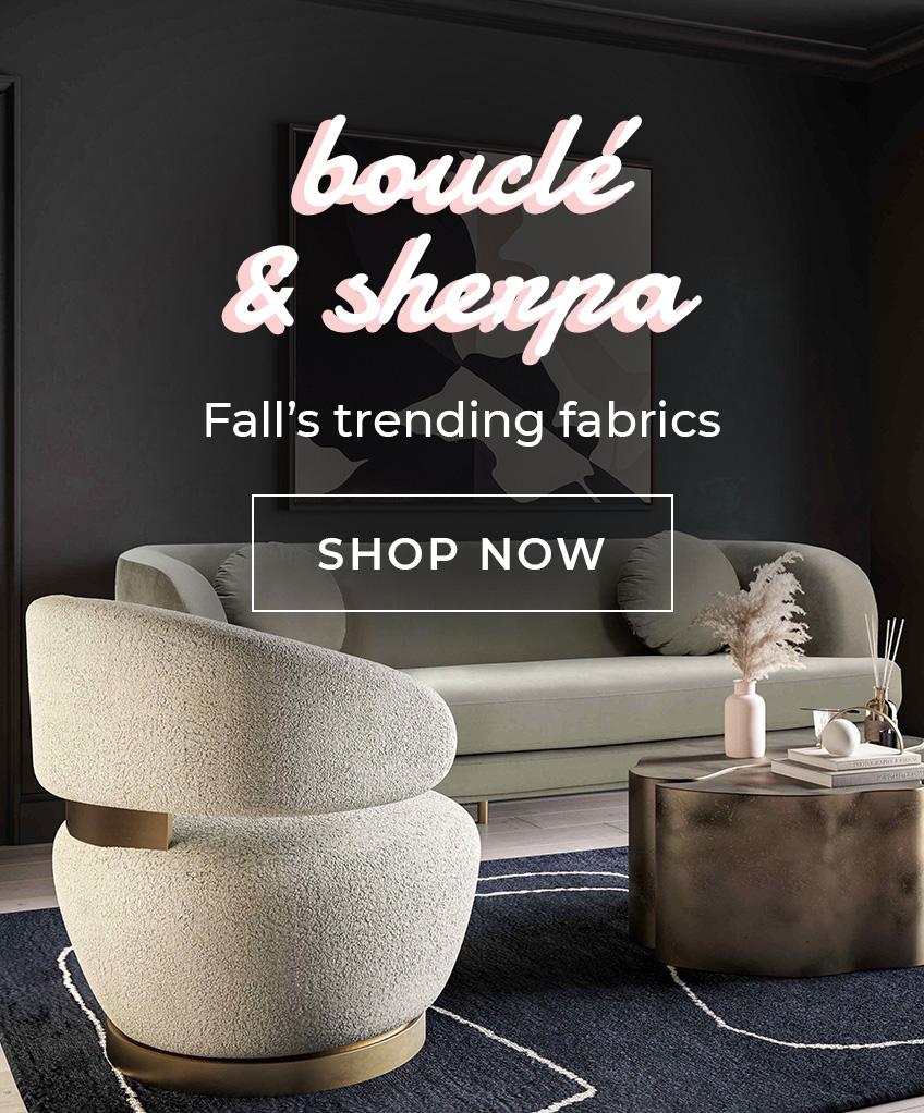 Shop Fall's Trending Fabrics