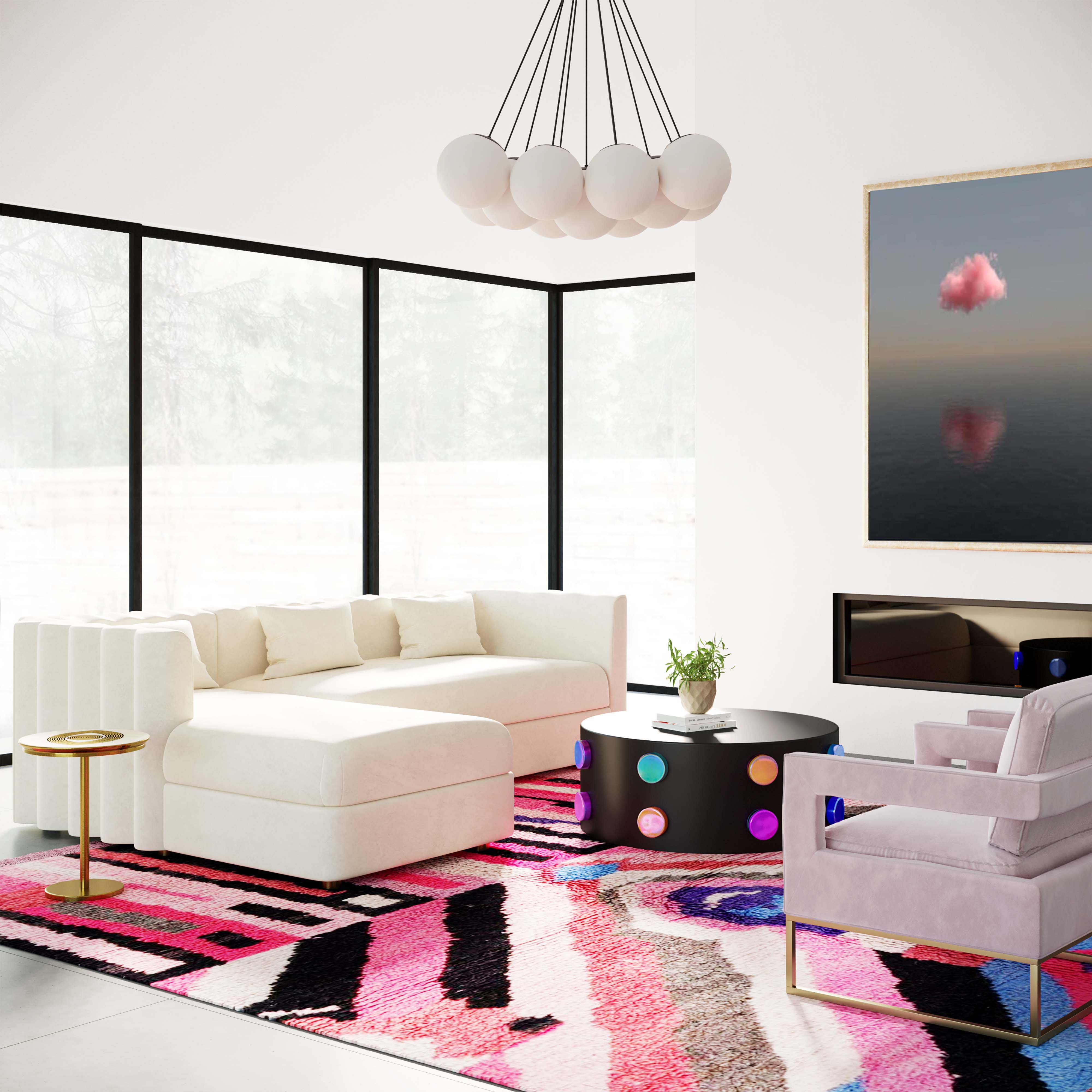Callie Sectional Cream LAF